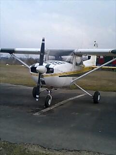 飛行機first Solo!