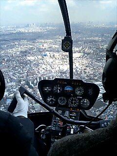 晴海ヘリポートに到着〜